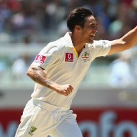 Mitchell Johnson - 14th Australian bowler to grab 200 Test wickets