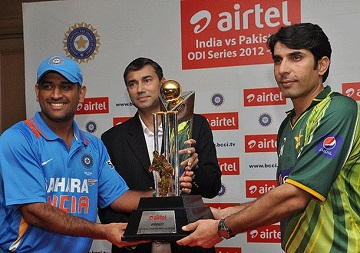 Pakistan vs. India - The interseting three ODI series
