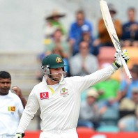 Phillip Hughes - The highest run scorer of the day with 86