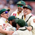 The Australians - After clinching the series 2-0