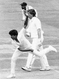 kapil dev's fiery pace bowling