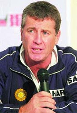 John Wright, India's first foreign coach