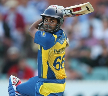 Lahiru Thirimanne - A scintillating unbeaten knock of 102 runs