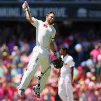 Matthew Wade - Celebrates his second Test hundred