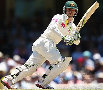 Phillip Hughes - A polished knock of 87 runs