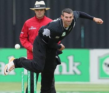 Andrew Ellis - Impressive fast bowler