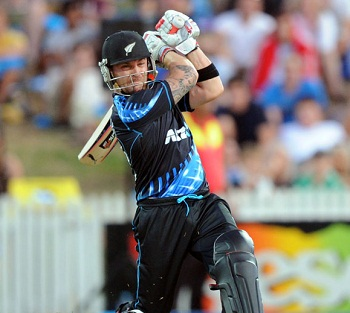 Brendon McCullum - A rapid knock of 74 off 38 balls