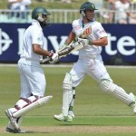 Hashim Amla and AB de Villiers - Excellent batting on the opening day