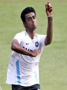 indian left arm fast bowler