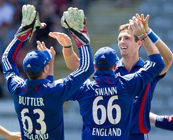 Steven Finn - Laid the victory foundation by grabbing three wickets