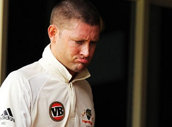 Michael Clarke - Unhappy with the performance of his team