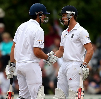 Alastair Cook and Nick Compton - Centurions and saviours for England