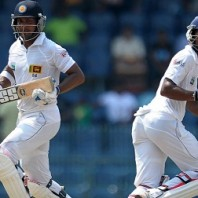 Kumar Sangakkara and Dinesh Chandimal - A match winning partnership of 195 runs