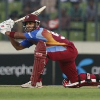 Lendl Simmons - 'Player of the match' for his majestic knock