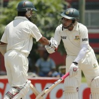 Mohammad Ashraful and Mushfiqur Rahim - Match saving hundreds