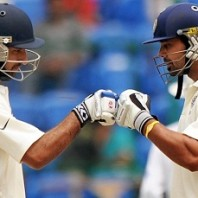 Murali Vijay and Cheteshwar Pujara - Impressive batting in the second Test
