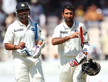 Murali Vijay and Cheteshwar Pujara - A Mammoth 294 runs unbroken partnership