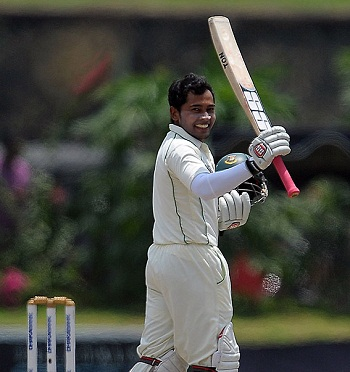 Mushfiqur Rahim - The first Bangladeshi batsman to thrash 200 runs