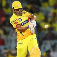 MS Dhoni - An express unbeaten knock of 67 from 37 mere balls