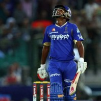 Sanju Samson - A crucnchy knock of 63 runs