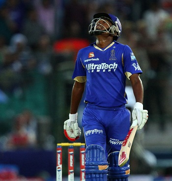 Sanju Samson - A crucnchy knock of 63 runs