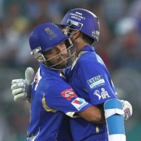 Ajinkya Rahane and Rahul Dravid - A match winning century stand
