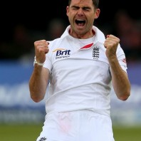 James Anderson - grabbed three important wickets