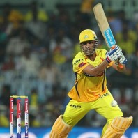 MS Dhoni - A brave unbeaten innings of 58 runs