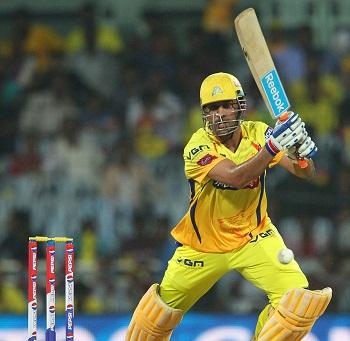 MS Dhoni - A brave unbeaten innings of 58 runs