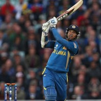 Kumar Sangakkara - blasted a match winning unbeaten 134 runs
