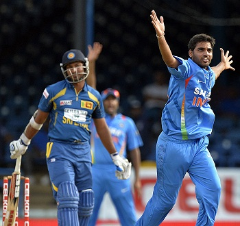 Bhuvneshwar Kumar - Ruled the day with his career's best 4-8