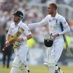 Ian Bell and Stuart Broad- 108 runs unbeaten partnership for the 7th wicket