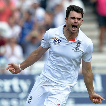 James Anderson - A match winning spell of 10 wickets