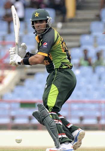 Misbah-ul-Haq - Leading from the front with his solid batting