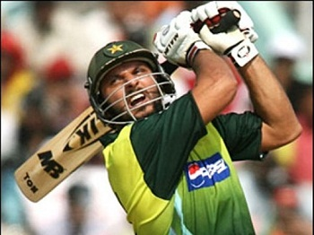 Shahid Afridi - Sizzling knock of 46 off 27 balls