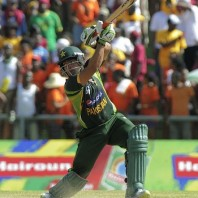 Umar Akmal - An express unbeaten knock of 46 off 36 balls