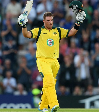 Aaron Finch - Murdered the English bowling