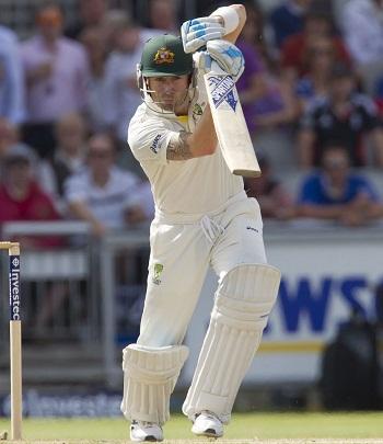 Michael Clarke - Outstanding batting in the match