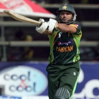 Shahid Afridi - 'Player of the match' for his all round performance