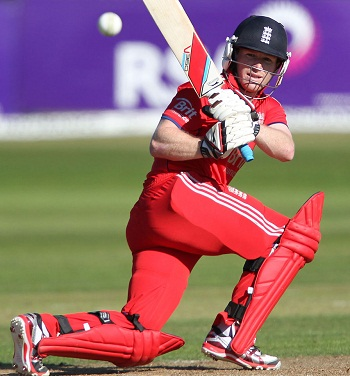 Eoin Morgan - Led his side from the front with a splendid ton