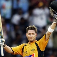 Michael Clarke - Maiden ODI ton vs. England