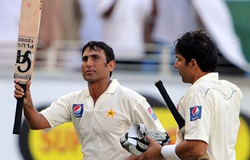 Younis Khan and Misbah-ul-Haq - Fought well for Pakistan