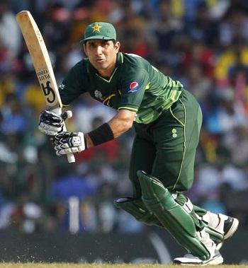 Misbah-ul-Haq - Skipper and prominent batsman