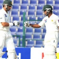 Misbah-ul-Haq and Asad Shafiq - Resisted well by contributing 197 runs for the 5th wicket