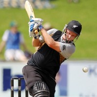 Colin Munro - Star of the day with unbeaten 73 off 39 mere balls