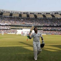 Sachin Tendulkar - Possibly, after playing his last Test innings