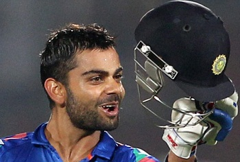 Virat Kohli - Top star in international cricket