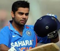 Virat Kohli - fastest 5000 runs along with Vivian Richards in 114th innings