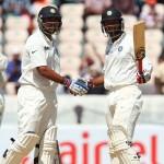 Cheteshwar Pujara and Murali Vijay - An unbroken second wicket partnership of 140 runs