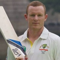 Chris Rogers - Top scorer of the day with 72
